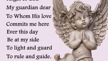 A Prayer to my Guardian Angel