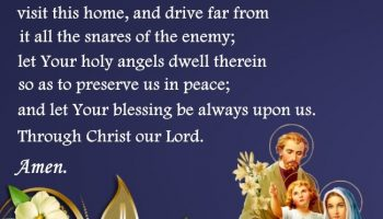 A Prayer for my Home