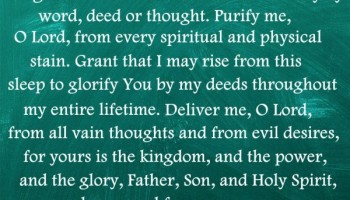Evening Prayer to God the Father